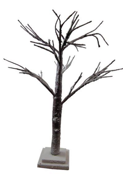 gisela graham christmas table decoration snowy twig tree