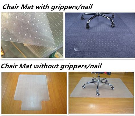 acrylic desk mat custom size factory custom pvc office chair plastic floor mat buy