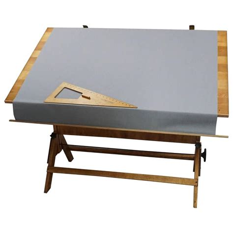 Drafting Table Covers 1940 Saxon Drafting Table With Cloth Cover At 1stdibs