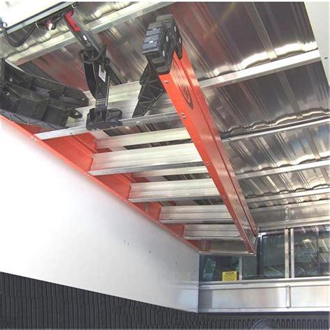 ceiling ladder storage jet rack step ladder storage system inlad truck