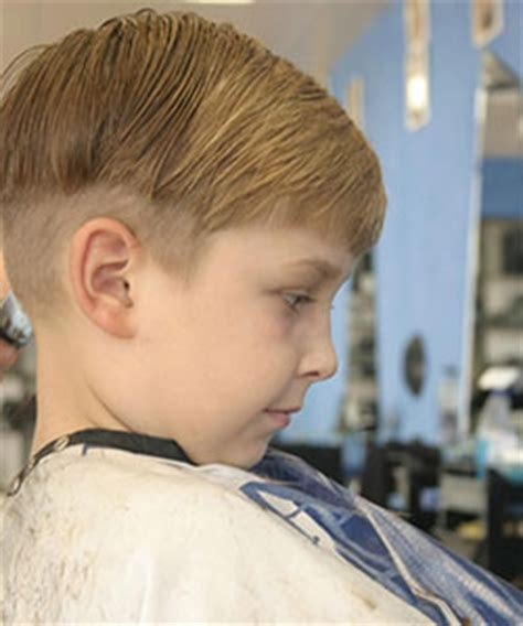 haircuts shaved sides for little boy kids hair style picture short and straight