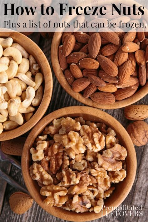Link What To Do With Leftover Nuts by How To Freeze Nuts For Future Use