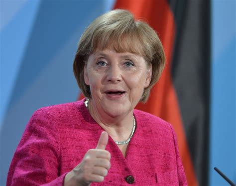 Angela Top german chancellor angela merkel named forbes most powerful in the world