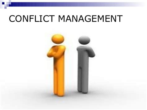 Personal Agreement Template conflict management