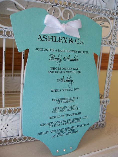 invites for baby shower ideas tiffany onesie baby shower invitations reserved for nicole