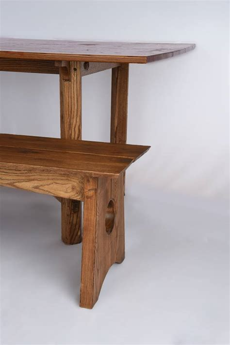 hayrake table  benches finewoodworking