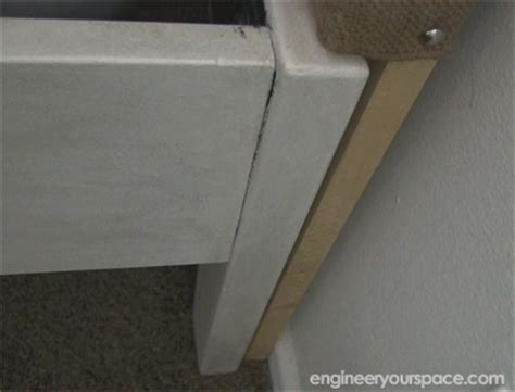 diy headboard legs how to make an upholstered headboard smart diy solutions