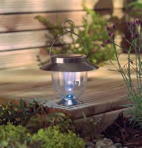 outdoor solar decor table lantern led garden light