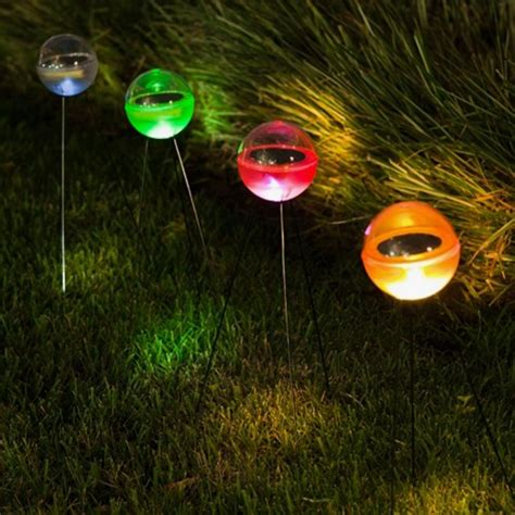 Outdoor Lighting Balls Unique Shaped L Powered By Sunlight Solar Light Balls Home Building Furniture And