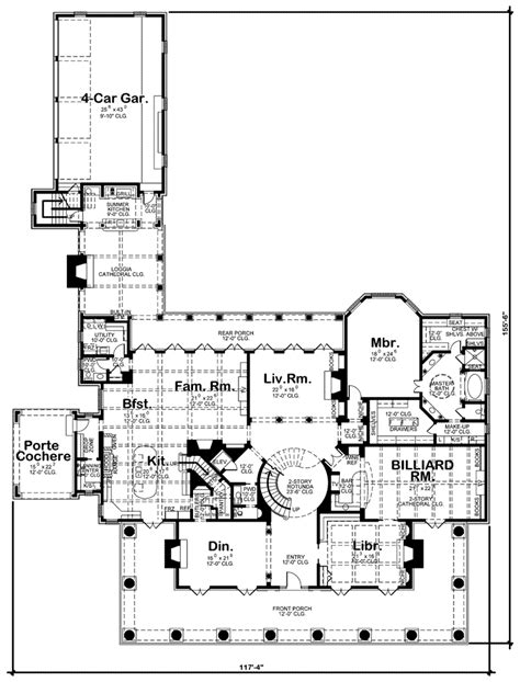 southern plantation floor plans southern comfort luxury home plan 026d 1856 house plans