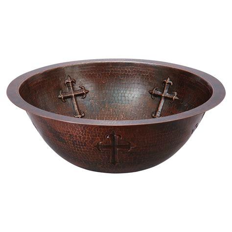 Cross Copper Sink