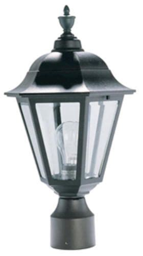 Patriot Outdoor Lighting Patriot Lighting 174 19 Quot Black Outdoor Post Light At Menards 174 Streetcar Uwl Fl15