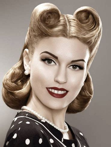 barrel curls ponytails show your love for vintage style with these inspiring 50s