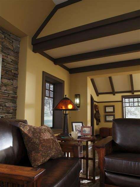 How To Decorate A Craftsman Home by Design A Craftsman Living Room Home Remodeling Ideas