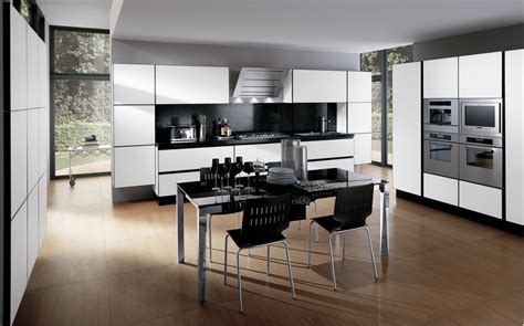 White And Black Kitchens Design 30 Black And White Kitchen Design Ideas Digsdigs