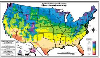 map of growing zones in america temperate climate permaculture hardiness zones heat