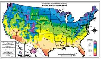 garden zone map temperate climate permaculture hardiness zones heat