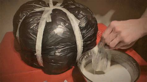Paper Mache Craft Ideas For Adults - diy paper mache pumpkin how to