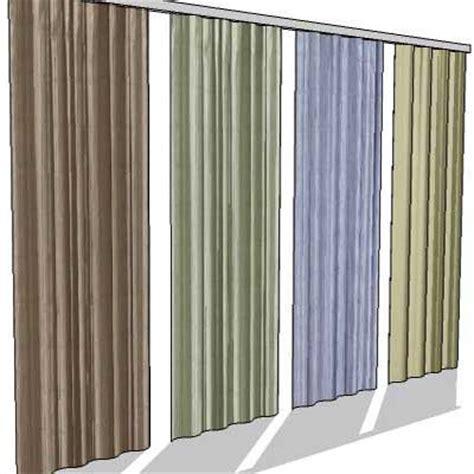 revit curtains low poly curtain 3d model formfonts 3d models textures