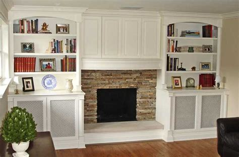 Fireplace Cabinets by Bookcases Home Decor Fireplaces