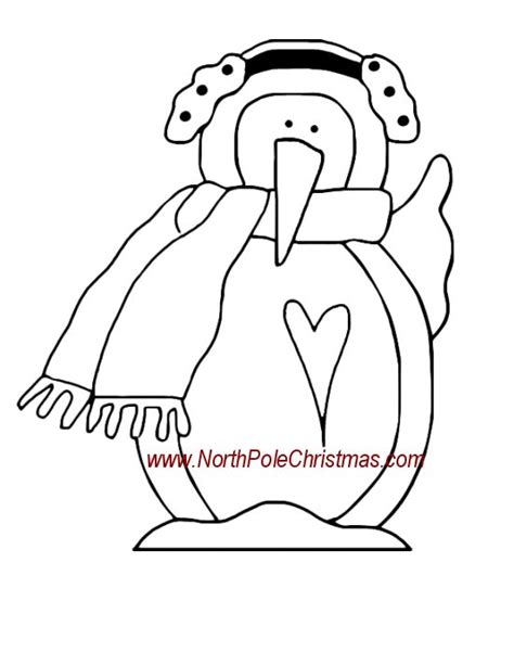 earmuff coloring page snowman with ear muffs for coloring coloring pages