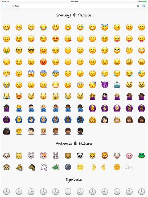 Name Meaning Lookup Smileys Lookup Emoji Names And Meanings On The App Store