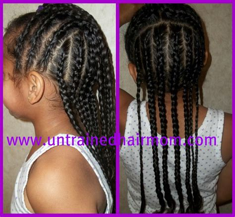 image of cornrow styles for kids cute easy cornrow style for kids