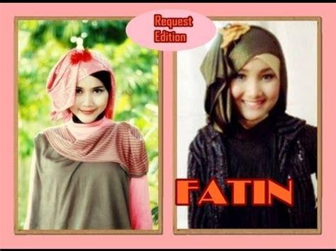 tutorial hijab pashmina fatin shidqia lubis pashmina hijab tutorial inspired by fatin shidqia