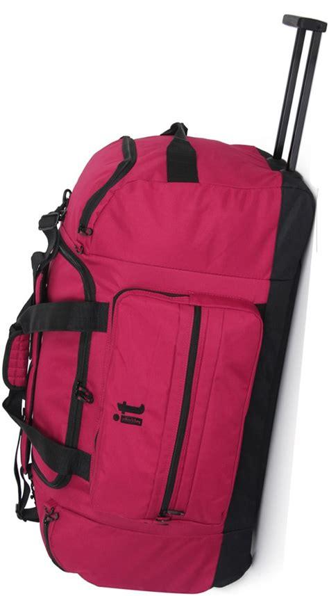 euston   luggage cm soft  wheel duffle red