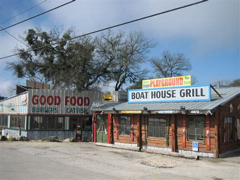 Boat House Grill Way Out West Austin Way Out West Austin