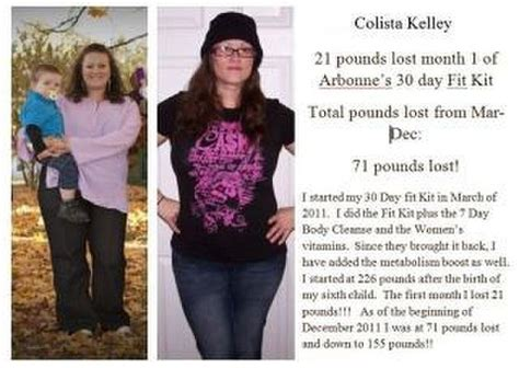 Arbonne 30 Day Detox Before And After by Arbonne Essentials 30 Day Fit Kit Arbonne Before And