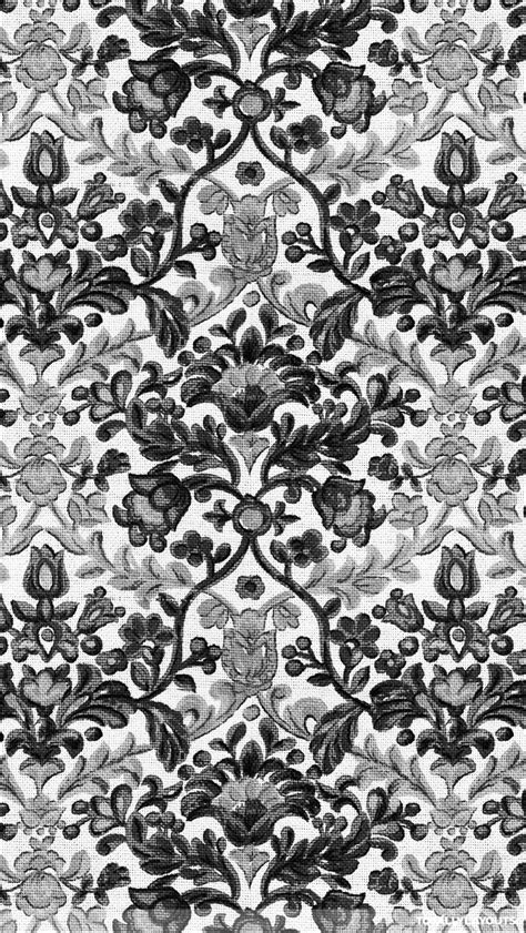 whatsapp wallpaper black and white giant black and white damask pattern whatsapp wallpaper