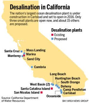 san jose water supply map why can t california just go ahead and desalinate water