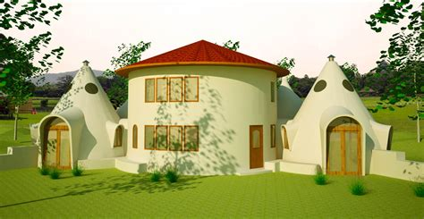 Straw Bale House Floor Plans Roundhouse Earthbag House Plans
