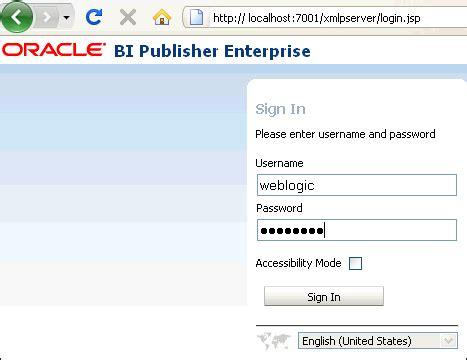 Tutorial Oracle Bi Publisher | oracle business intelligence bi publisher 11g tutorial