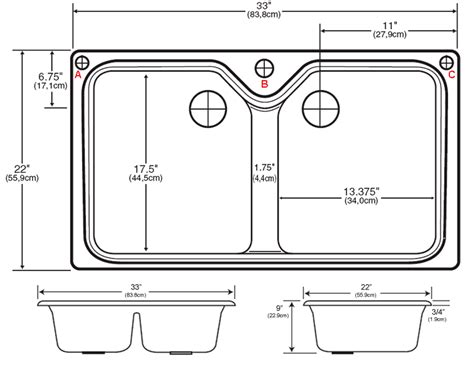 sink sizes for kitchen sink sizes kitchen home design