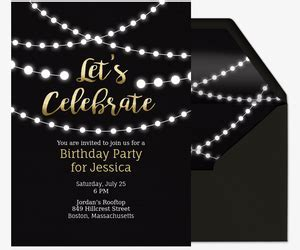 Free Birthday Party Invitations for Her   Evite