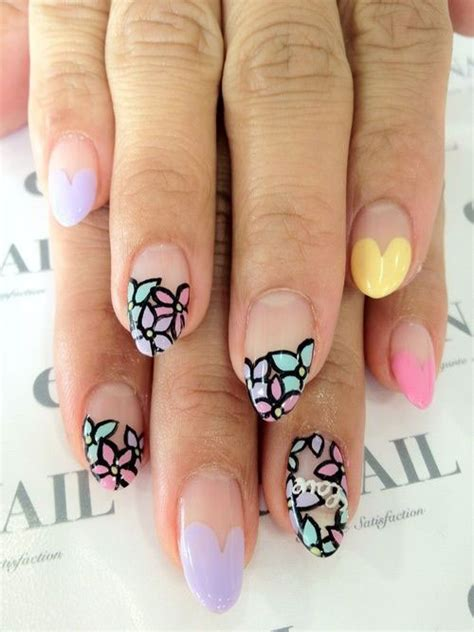 what is the new trend for naills 2015 12 valentine s day little heart nail art designs ideas