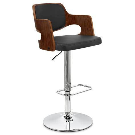 chaise de bar bois faux cuir amazon monde du tabouret