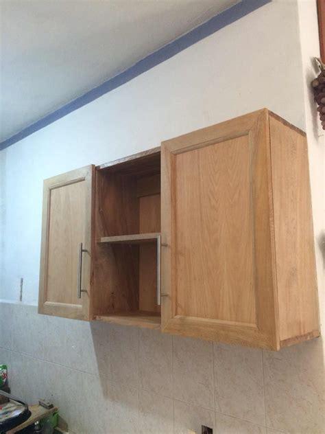 puertas alacena cocina integral puertas pared madera