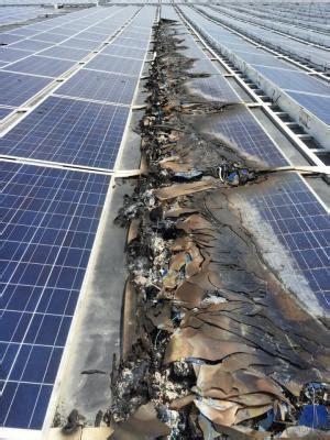 live solar panel data solar panel fires concern local officials lowell sun