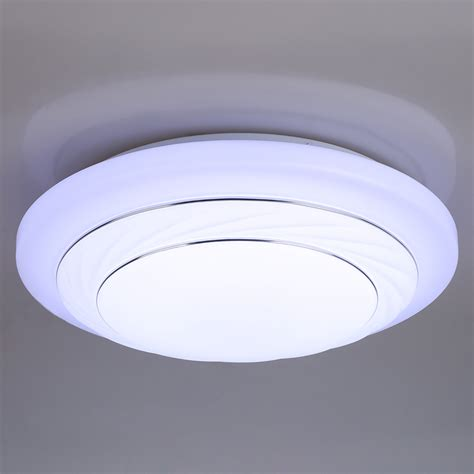 Flush Mount Led Ceiling Light Fixtures Modern Bedroom 24w Led Ceiling Light Pendant L Flush Mount Fixture New