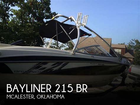 bayliner boats for sale oklahoma sold bayliner 215 br boat in mcalester ok 058981