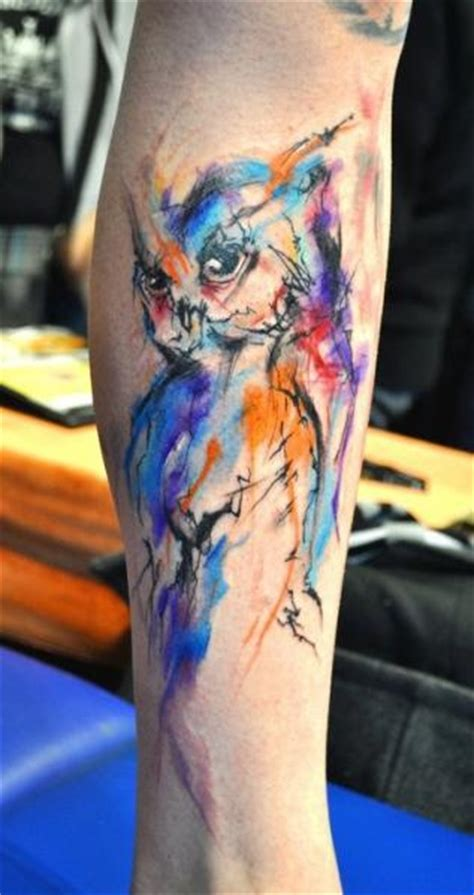 watercolor tattoos prague lukas musil musa artist unique style