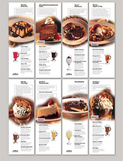 Design Dessert Menu | graphic design dessert menu design branding corporate