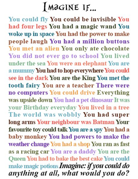 Imaginative Essay by A Great Poster Prompt Of Creative Writing Ideas To Stir Students Imagination Great For