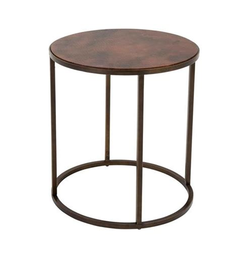 copper top tables copper top nesting coffee tables weir s furniture