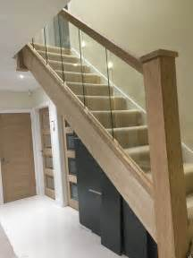 Banister And Baluster Reflections Glass And Oak Balustrade Refurbishment Kit