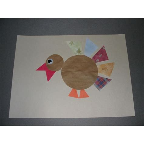 different paper crafts five turkey preschool crafts made with a variety of