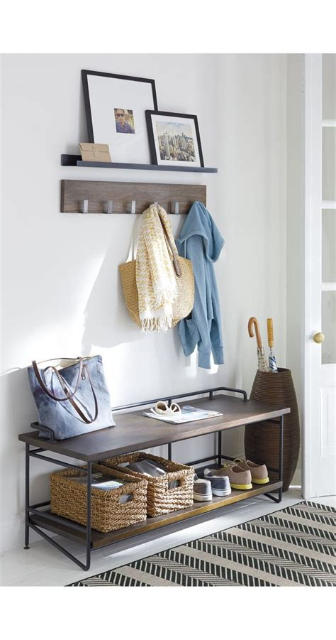 andes wall mounted coat rack best 25 crate and barrel ideas on